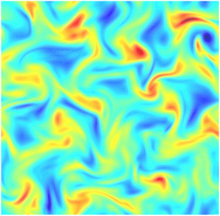 Spectral energy scaling in precessing turbulence