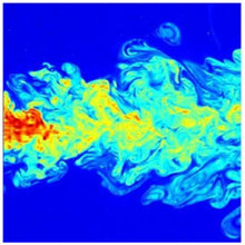 Super-resolution of turbulent passive scalar images using data assimilation